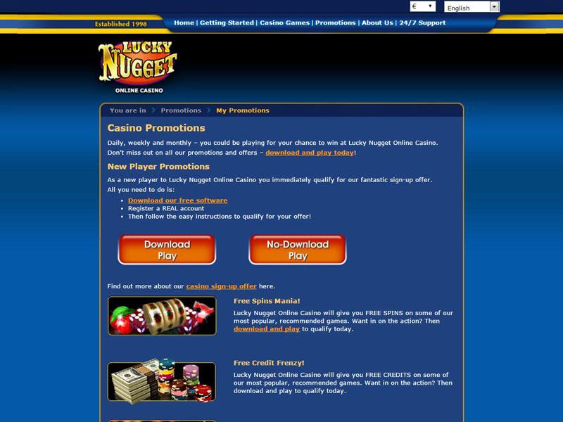 Lucky Nugget Casino Casino Review - Lucky Nugget Casino™ Slots & Bonus | luckynuggetcasino.com