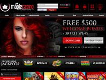 Screenshot Maple Casino