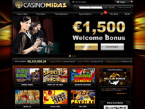 Screenshot Midas Casino