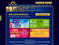 Screenshot Sun Palace Casino