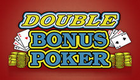 Match Times pay Double Bonus Poker