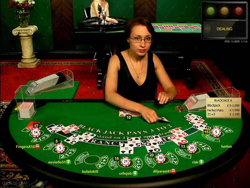Slot Live Blackjack Standard Limit (Extended Offering)