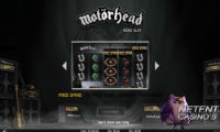 New Slot Machine from NetEnt Motörhead Will Be Released in September