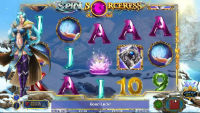 Win Cash Prizes Playing Slot Machine Spin Sorceress from NextGen