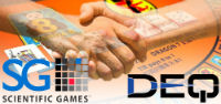 Scientific Games has signed a definite agreement to buy DEQ Systems