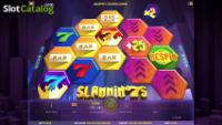 Win a share of £2,500 playing the Slammin' 7s slot machine