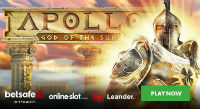 Betsafe Casino introduces a new gaming machine Apollo God of the Sun