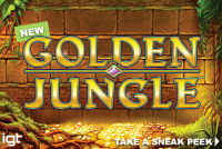 Golden Jungle is a new IGT videoslot that will be available at online casinos soon