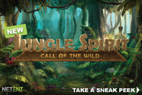NetEnt releases a new gaming machine Jungle Spirit: Call of the Wild